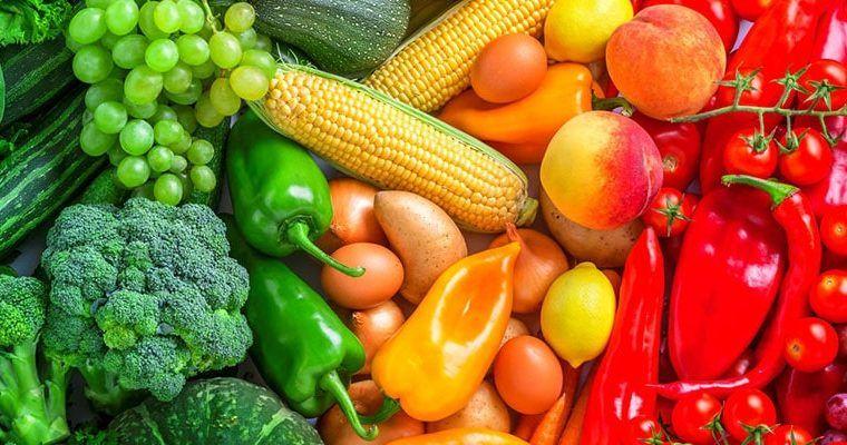 El significado de los colores de los alimentos