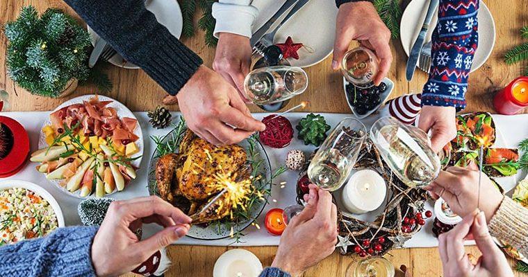 Los 5 mejores alimentos saludables para Navidad