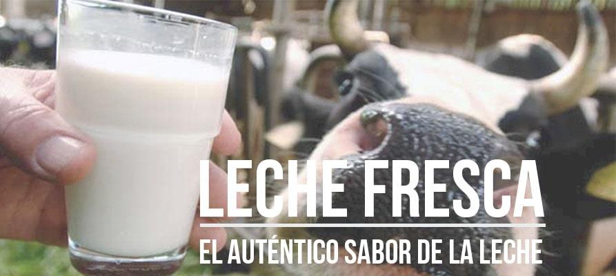Leche fresca, el auténtico sabor de la leche