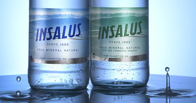 Agua mineral Insalus