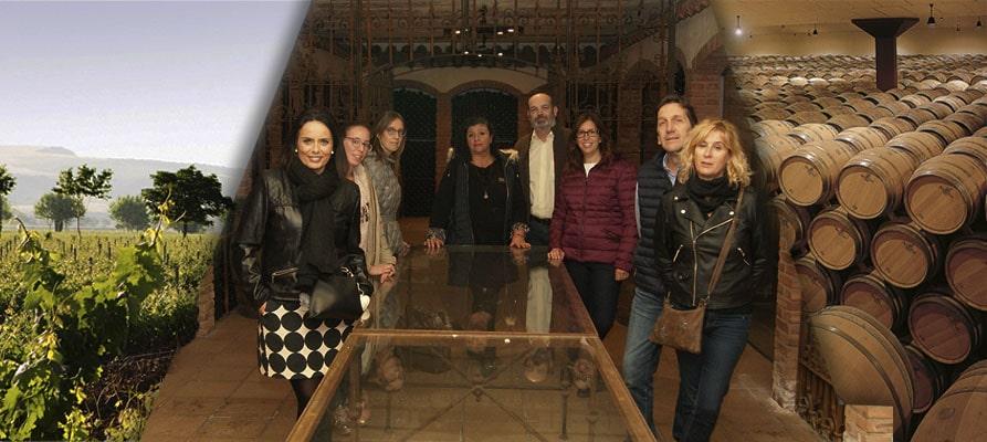 Visitamos las bodegas El Coto de Rioja