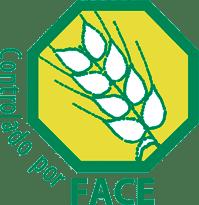 Logo FACE producto sin gluten