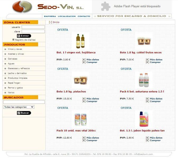 Web Sedovin 2004